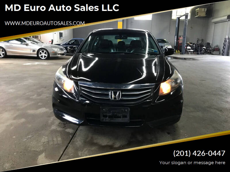 2012 Honda Accord for sale at MD Euro Auto Sales LLC in Hasbrouck Heights NJ