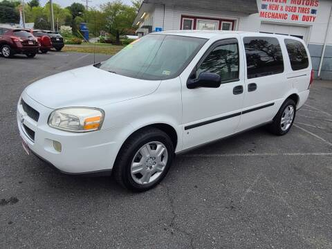 2008 Chevrolet Uplander for sale at Driven Motors in Staunton VA