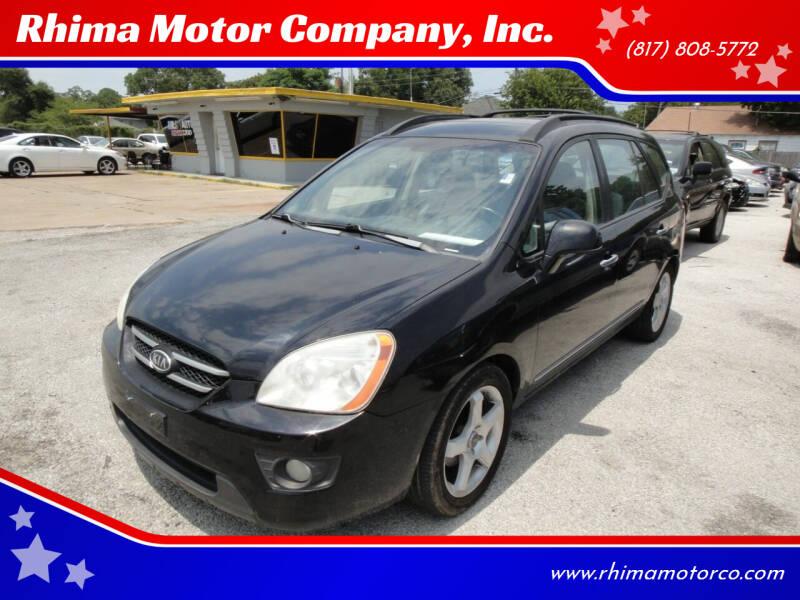 2007 Kia Rondo for sale at Rhima Motor Company, Inc. in Haltom City TX
