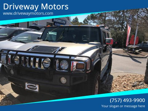 2003 HUMMER H2 for sale at Driveway Motors in Virginia Beach VA