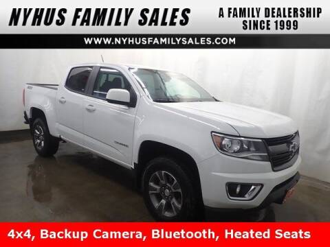 2019 Chevrolet Colorado for sale at Nyhus Family Sales in Perham MN