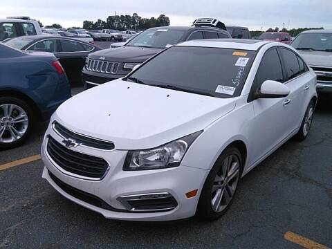 2015 Chevrolet Cruze for sale at Cj king of car loans/JJ's Best Auto Sales in Troy MI