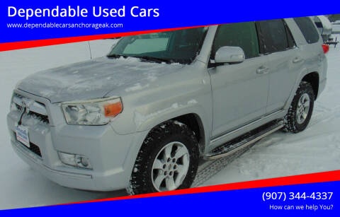 2013 Toyota 4Runner for sale at Dependable Used Cars in Anchorage AK