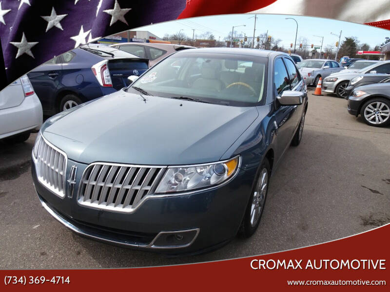 2012 Lincoln MKZ for sale at Cromax Automotive in Ann Arbor MI