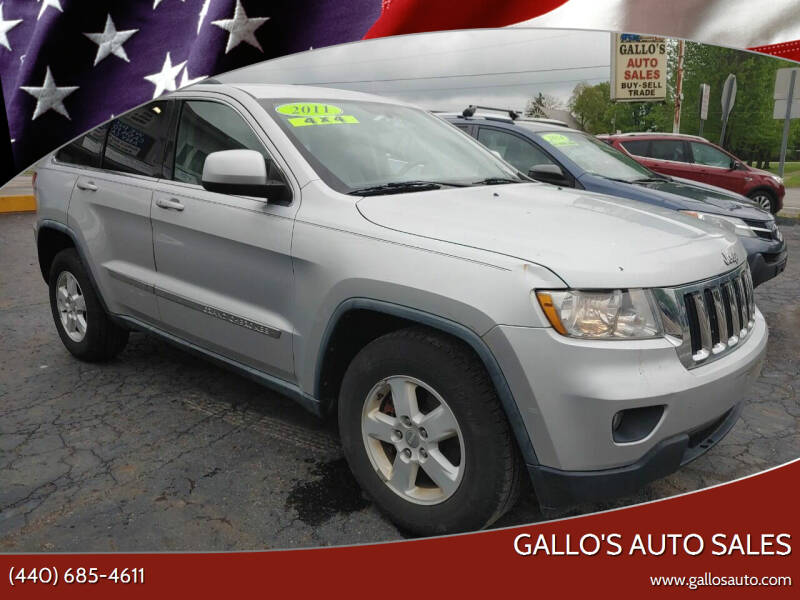 2011 Jeep Grand Cherokee for sale at Gallo's Auto Sales in North Bloomfield OH