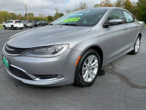 2015 Chrysler 200 for sale at FREDDY'S BIG LOT in Delaware OH