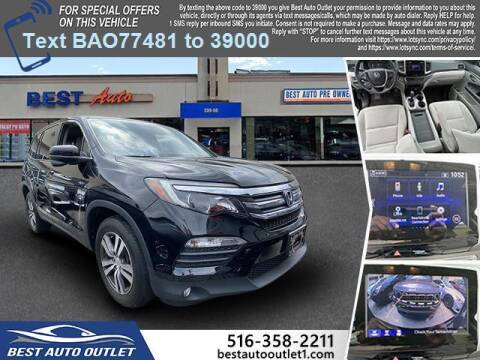 2018 Honda Pilot for sale at Best Auto Outlet in Floral Park NY