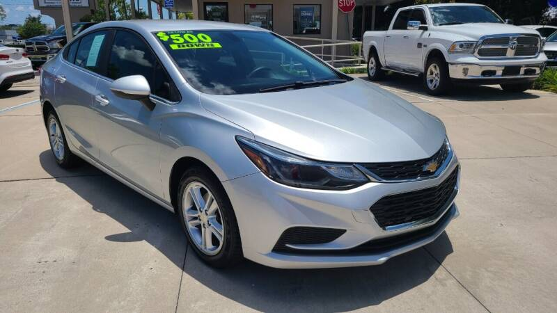 2016 Chevrolet Cruze for sale at Dunn-Rite Auto Group in Longwood FL