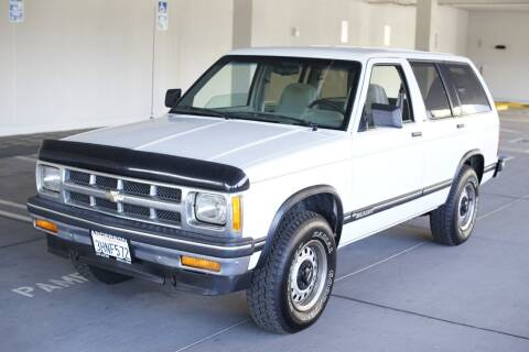 1994 Chevrolet S-10 Blazer for sale at Sports Plus Motor Group LLC in Sunnyvale CA