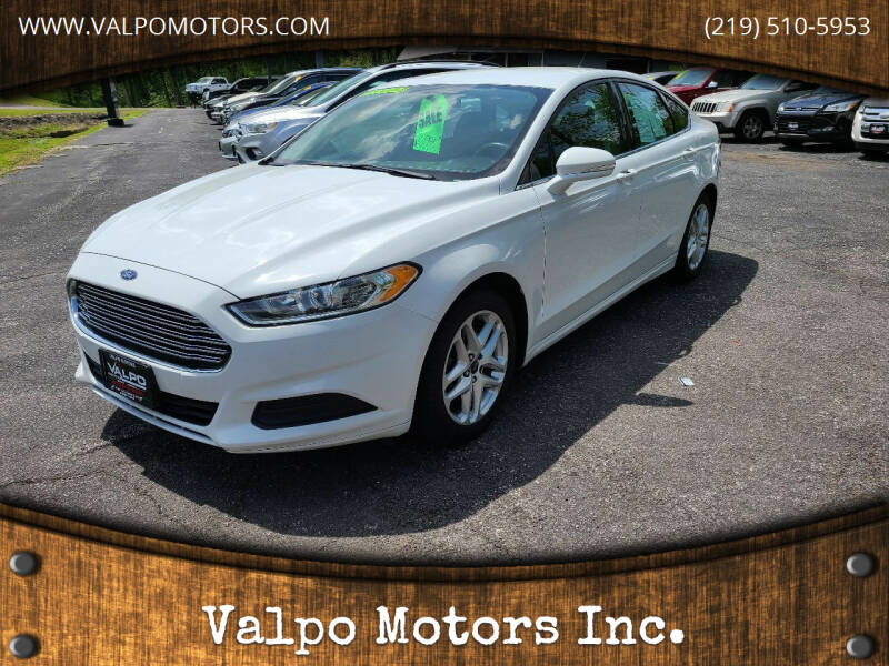 2014 Ford Fusion for sale at Valpo Motors in Valparaiso IN