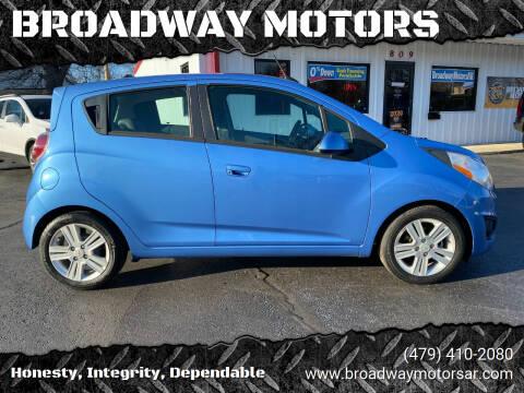 2015 Chevrolet Spark for sale at BROADWAY MOTORS in Van Buren AR