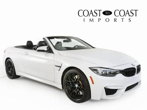 2018 BMW M4 for sale at Coast to Coast Imports in Fishers IN