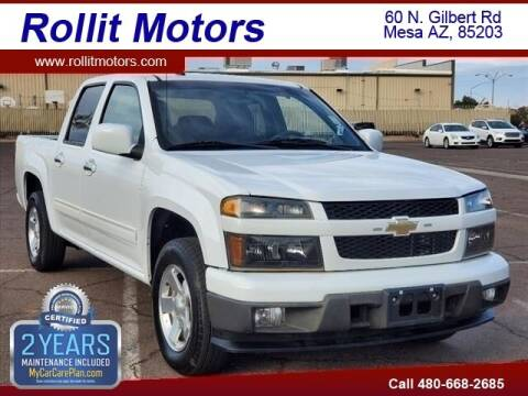 2012 Chevrolet Colorado for sale at Rollit Motors in Mesa AZ