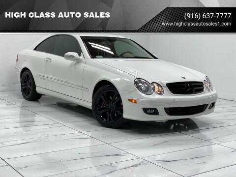 2007 Mercedes-Benz CLK for sale at HIGH CLASS AUTO SALES in Rancho Cordova CA