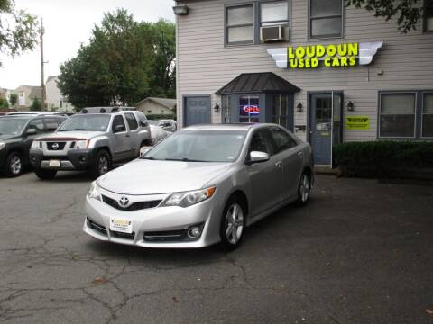 2013 Toyota Camry for sale at Loudoun Used Cars in Leesburg VA