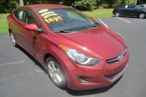 2013 Hyundai Elantra for sale at Glory Motors in Rock Hill SC