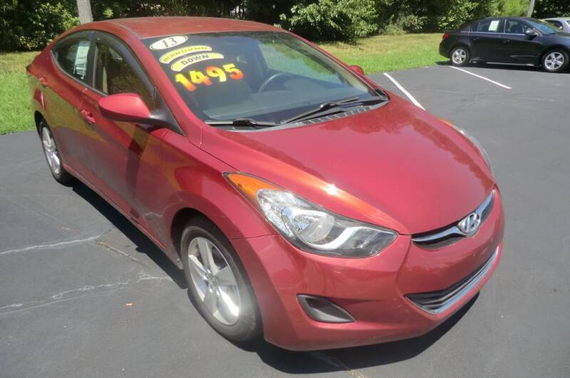 2013 Hyundai Elantra for sale at Glory Motors in Rock Hill SC