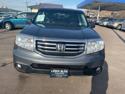 2013 Honda Pilot for sale at Lewis Blvd Auto Sales in Sioux City IA
