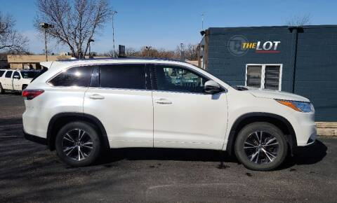 2016 Toyota Highlander for sale at THE LOT in Sioux Falls SD