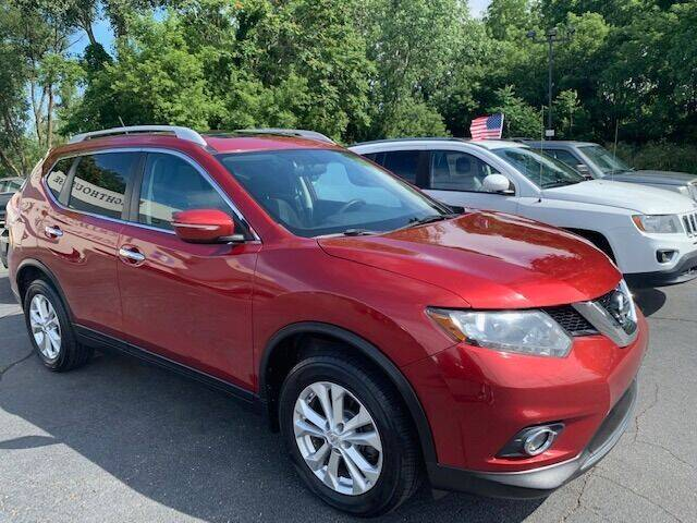 2015 Nissan Rogue for sale at Lighthouse Auto Sales in Holland MI