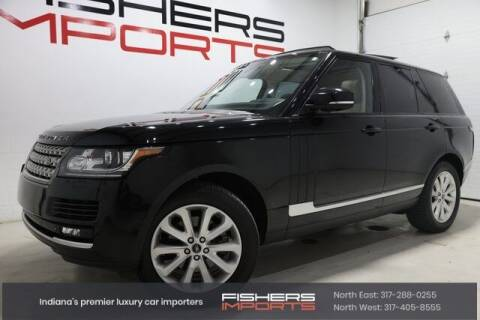 2014 Land Rover Range Rover for sale at Fishers Imports in Fishers IN