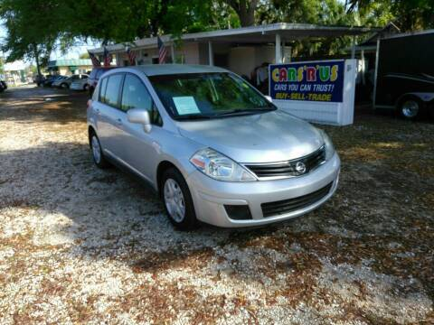 2012 Nissan Versa for sale at D & D Detail Experts / Cars R Us in New Smyrna Beach FL