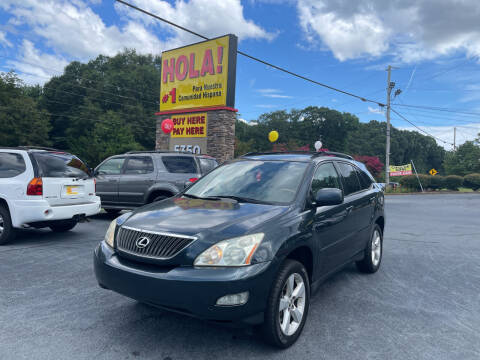 2005 Lexus RX 330 for sale at No Full Coverage Auto Sales in Austell GA