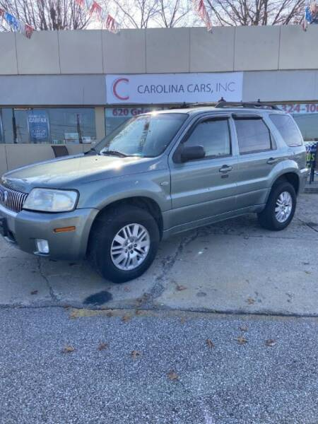 2006 Mercury Mariner for sale at Carolina Cars, Inc. in Elyria OH