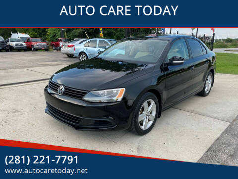 2012 Volkswagen Jetta for sale at AUTO CARE TODAY in Spring TX
