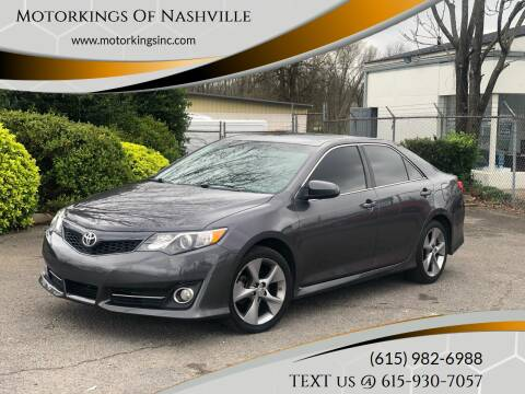 2014 Toyota Camry for sale at Motorkings Of Nashville in Nashville TN