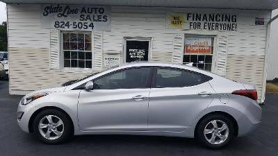 2015 Hyundai Elantra for sale at STATE LINE AUTO SALES in New Church VA