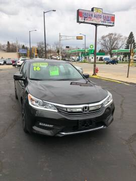 2016 Honda Accord for sale at Dream Auto Sales in South Milwaukee WI