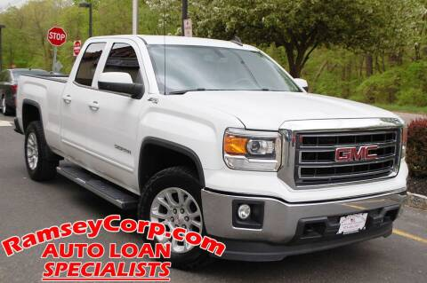 2015 GMC Sierra 1500 for sale at Ramsey Corp. in West Milford NJ