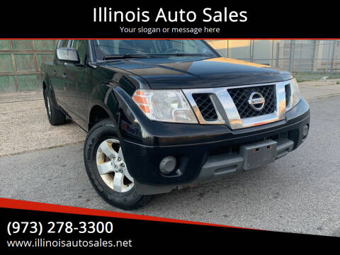 2012 Nissan Frontier for sale at Illinois Auto Sales in Paterson NJ