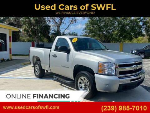 2010 Chevrolet Silverado 1500 for sale at Used Cars of SWFL in Fort Myers FL