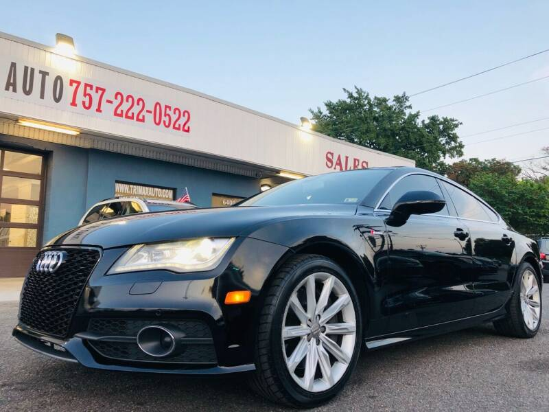 2012 Audi A7 for sale at Trimax Auto Group in Norfolk VA
