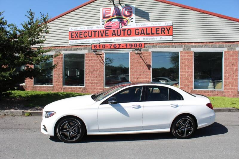 2018 Mercedes-Benz E-Class for sale at EXECUTIVE AUTO GALLERY INC in Walnutport PA