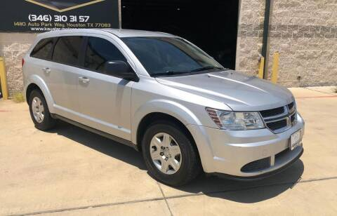 2012 Dodge Journey for sale at KAYALAR MOTORS in Houston TX