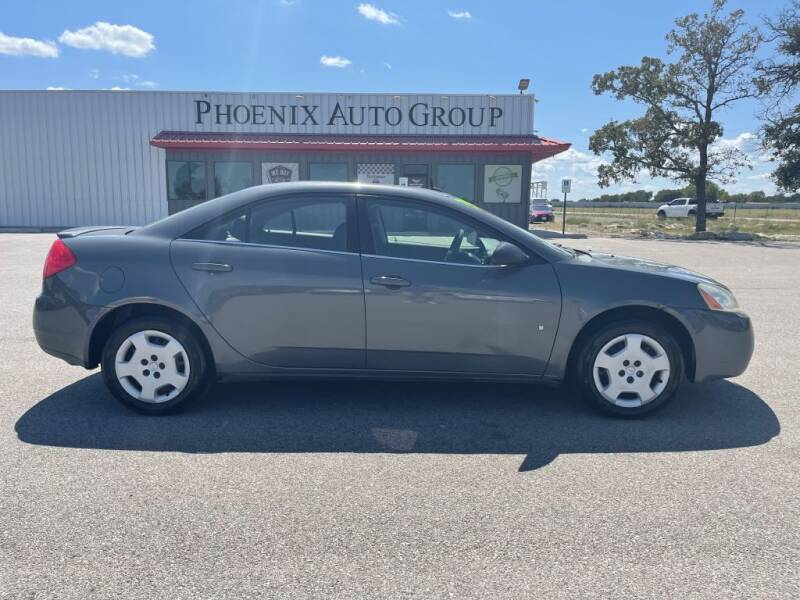 2008 Pontiac G6 for sale at PHOENIX AUTO GROUP in Belton TX