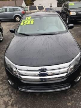 2010 Ford Fusion for sale at Al's Linc Merc Inc. in Garden City MI