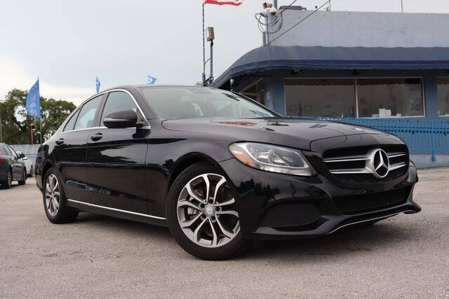 2017 Mercedes-Benz C-Class for sale at OCEAN AUTO SALES in Miami FL