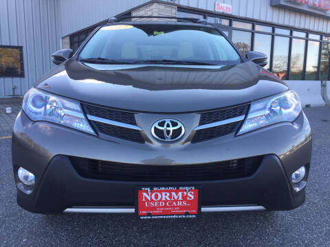2013 Toyota RAV4 for sale at NORM'S USED CARS INC - Trucks By Norm's in Wiscasset ME