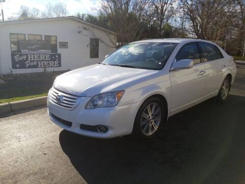 2008 Toyota Avalon for sale at TR MOTORS in Gastonia NC