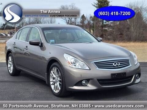 2013 Infiniti G37 Sedan for sale at The Annex in Stratham NH