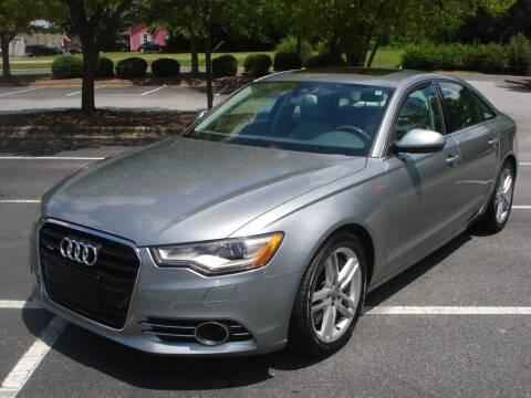 2012 Audi A6 for sale at Uniworld Auto Sales LLC. in Greensboro NC