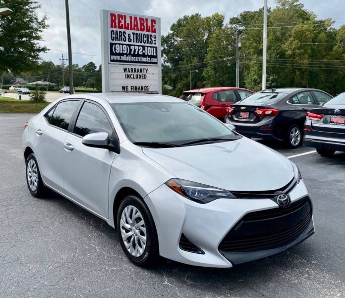 2018 Toyota Corolla for sale at Reliable Cars & Trucks LLC in Raleigh NC