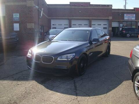 2015 BMW 7 Series for sale at MOTORAMA INC in Detroit MI