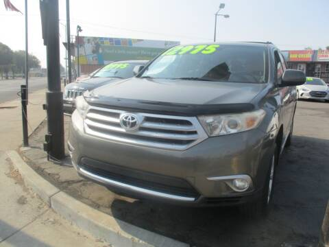 2012 Toyota Highlander for sale at Quick Auto Sales in Modesto CA