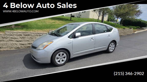 2008 Toyota Prius for sale at 4 Below Auto Sales in Willow Grove PA