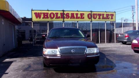 2003 Mercury Grand Marquis for sale at LONG BROTHERS CAR COMPANY in Cleveland OH